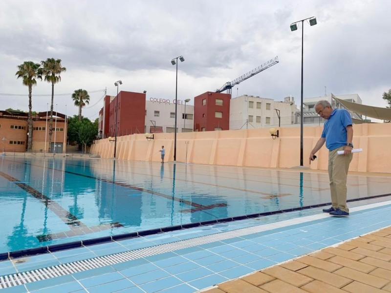 <span style='color:#780948'>ARCHIVED</span> - Outdoor public swimming pools will open in 11 districts of the Murcia municipality this year