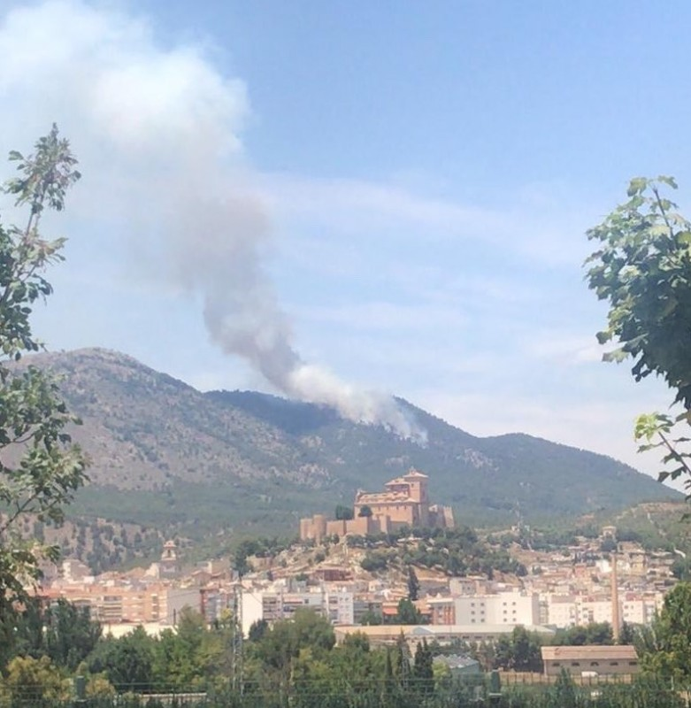 <span style='color:#780948'>ARCHIVED</span> - Forest fire in Caravaca de la Cruz extinguished