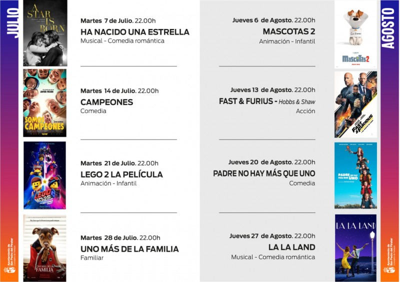 Tuesday night auto-cine in San Pedro del Pinatar