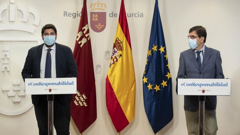 <span style='color:#780948'>ARCHIVED</span> - 100 euro fine for not wearing a mask in Murcia region from now on