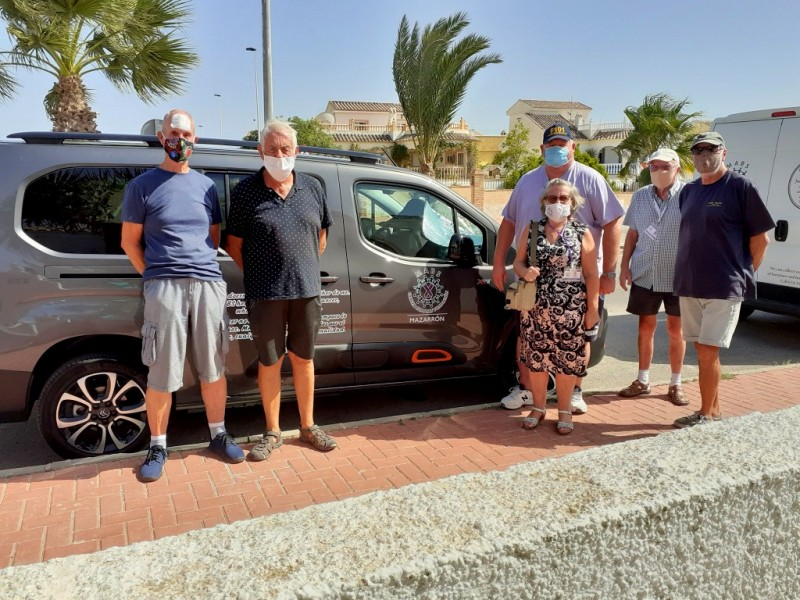 <span style='color:#780948'>ARCHIVED</span> - Bittersweet delivery of much-needed vehicle for MABS Cancer Foundation