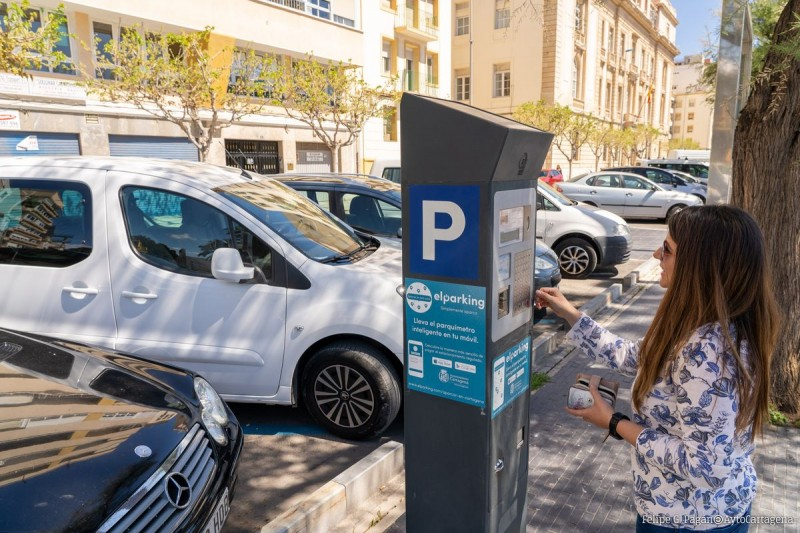 <span style='color:#780948'>ARCHIVED</span> - Free parking times for blue ORA parking in Murcia and Cartagena during August