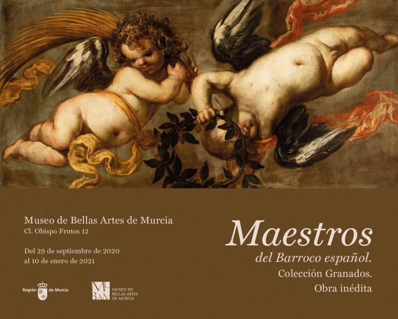 <span style='color:#780948'>ARCHIVED</span> - Maestros del Barroco español. Obra inédita. Colección Granados at the MUBAM Murcia until 10th January 2021