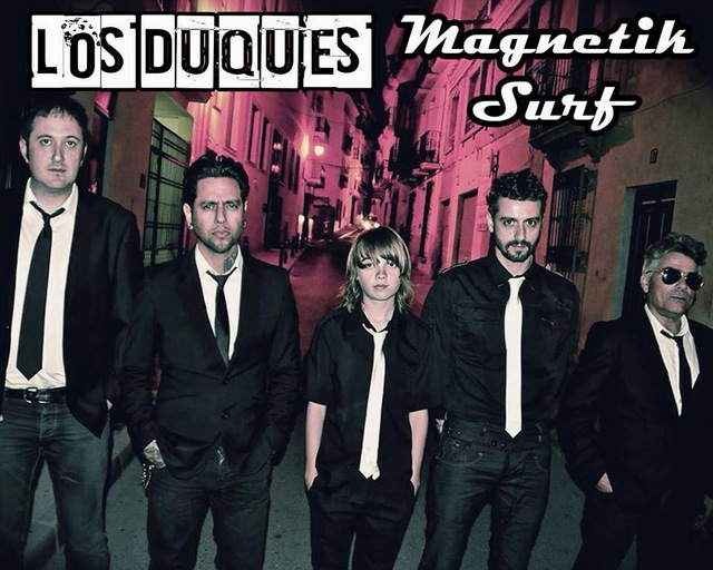 <span style='color:#780948'>ARCHIVED</span> - 15th March, Magnetic Surf at The New Royal, Puerto de Mazarron