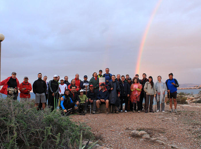 <span style='color:#780948'>ARCHIVED</span> - 27th April, 14km route with the Mazarron Amigos de la Naturaleza