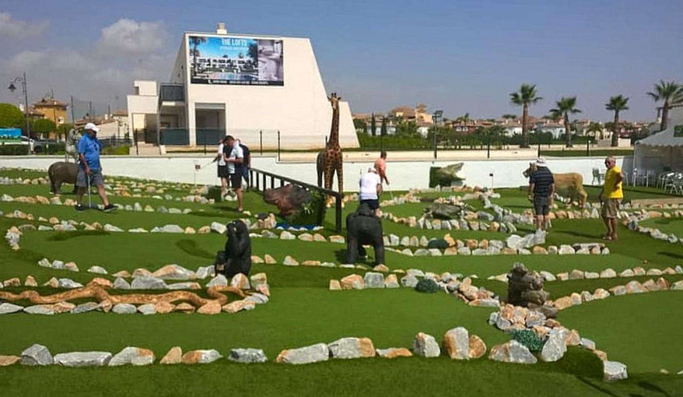 Fun n Games African Adventure Golf in Mar Menor Golf Resort