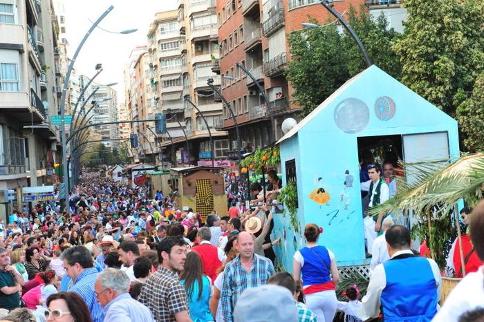 Thousands pack Murcia for the Bando de la Huerta