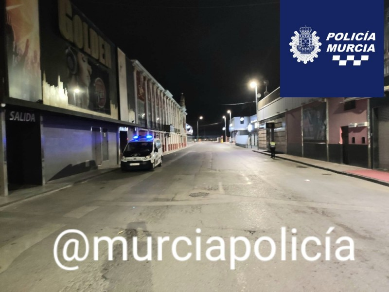 <span style='color:#780948'>ARCHIVED</span> - 181 people caught in two illegal parties in Murcia city