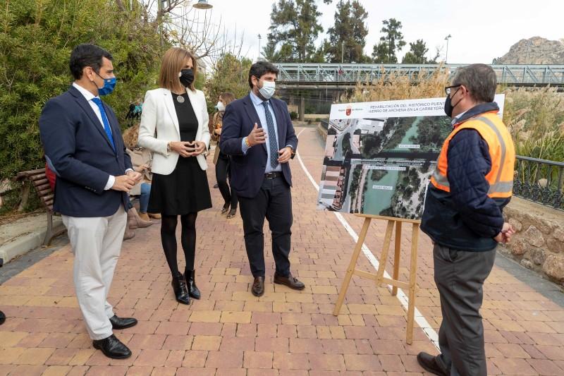 <span style='color:#780948'>ARCHIVED</span> - Contract awarded to restore principal iron bridge in Archena, Murcia