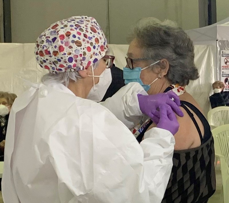 <span style='color:#780948'>ARCHIVED</span> - Unvaccinated over-80s in Águilas urged to contact their medical centres