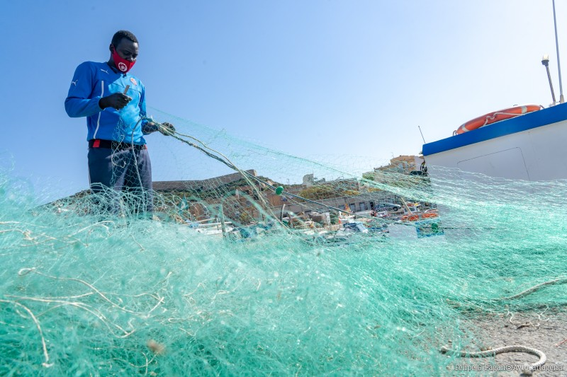 <span style='color:#780948'>ARCHIVED</span> - Cartagena promotes fishing traditions in primary education at local schools