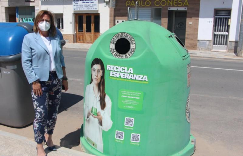 <span style='color:#780948'>ARCHIVED</span> - Águilas and San Pedro del Pinatar promote the Recicla Esperanza glass recycling campaign