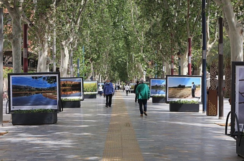 <span style='color:#780948'>ARCHIVED</span> - Open-air Calasparra rice fields photo exhibition in the centre of Murcia: Entre arrozales