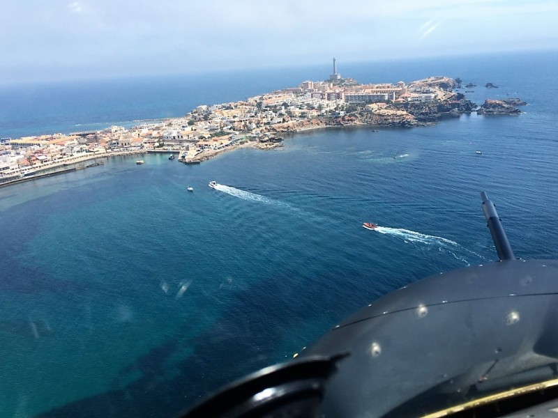 <span style='color:#780948'>ARCHIVED</span> - British pilot from Totana killed as light aircraft crashes into the sea off Cabo de Palos