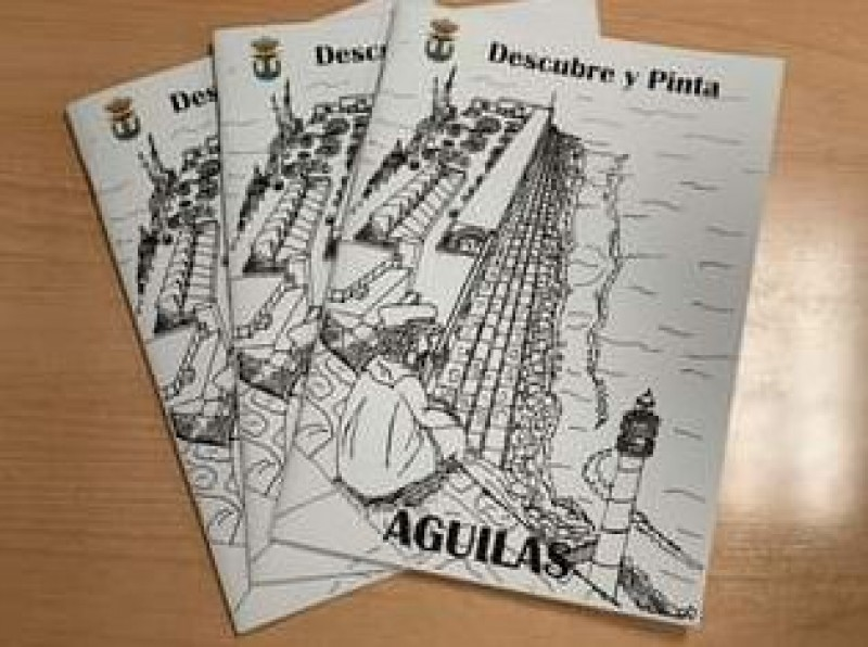 <span style='color:#780948'>ARCHIVED</span> - Themed colouring book helps Aguilas visitors to have fun whilst visiting the municipality