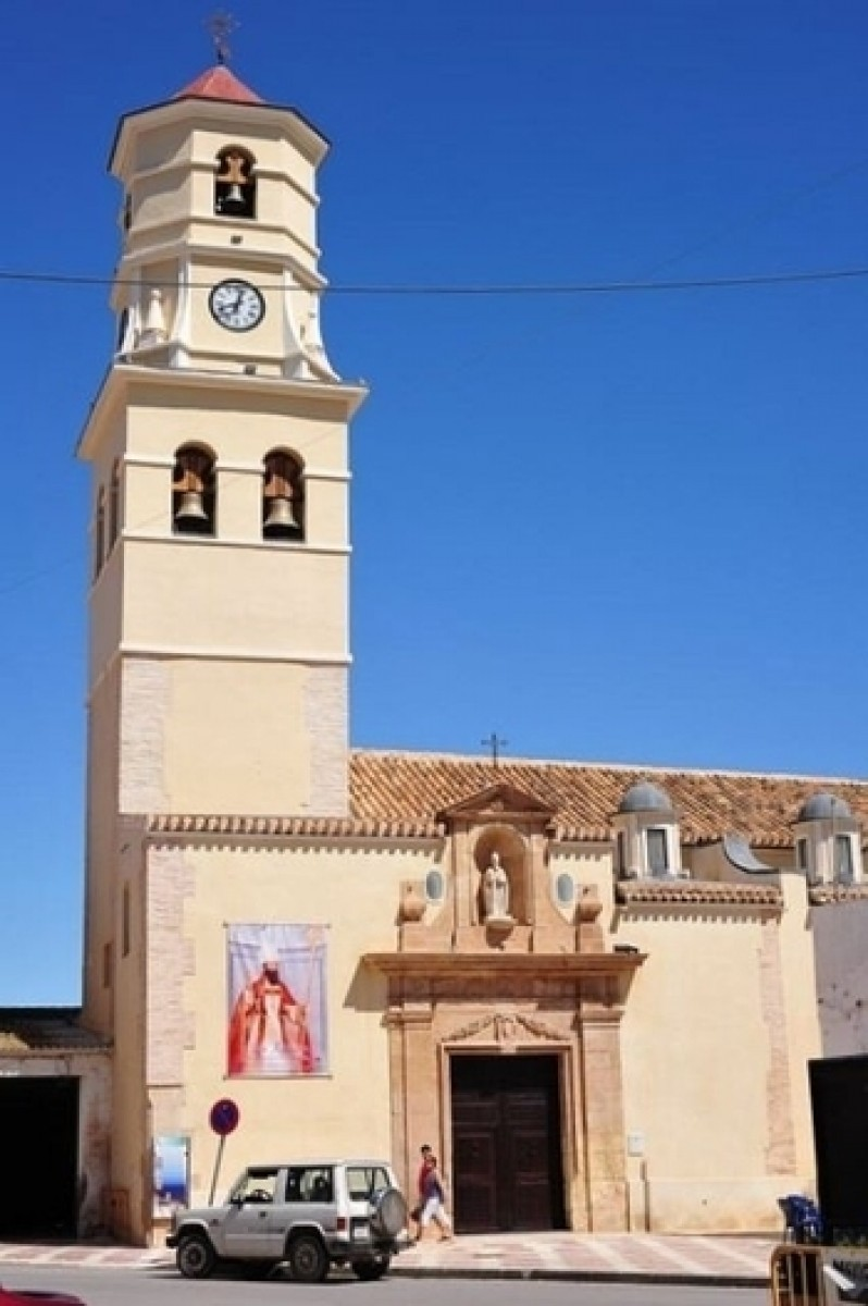 Fuente Álamo Iglesia de San Agustín.
