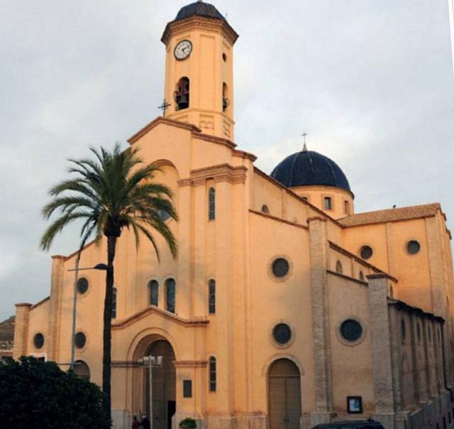 The Iglesia Nuestra Señora del Rosario in La Unión