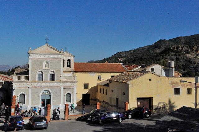 The monastery-church of Nuestra Señora de la Luz