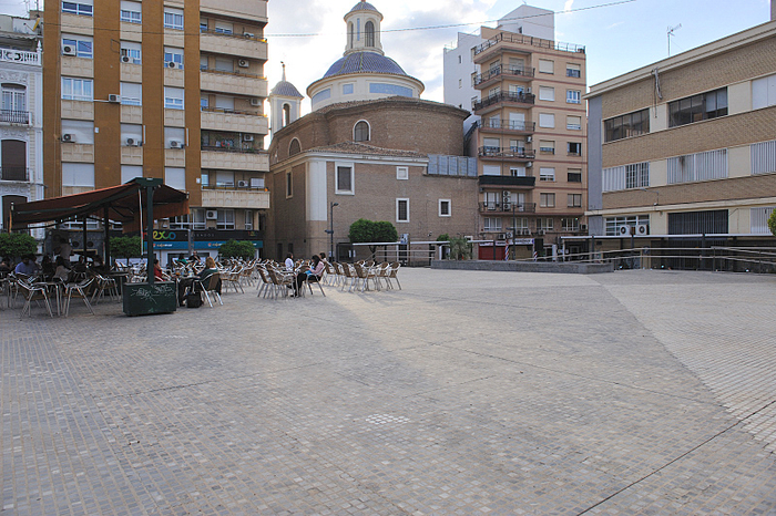 The Plaza de Europa in Murcia