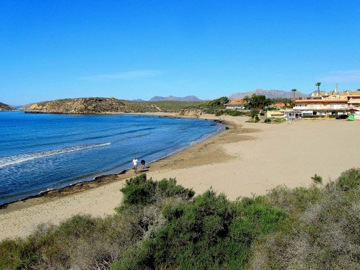 Águilas beaches: Playa Calarreona