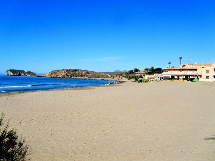 Águilas beaches: Playa Calarreona