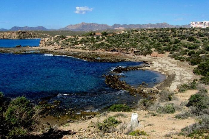 Águilas beaches: Cala de la Tortuga