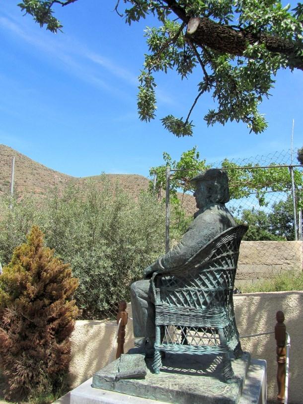 Cuesta de Gos in Águilas, birthplace of actor Paco Rabal
