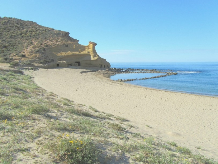 Águilas beaches: Calacerrada or Playa de los Cocedores