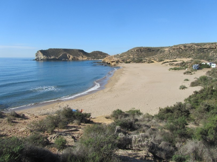 Águilas beaches: Playa de la Higuerica