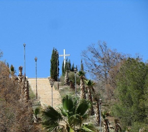 Cabezo de la Cruz in El Garrobillo, Águilas