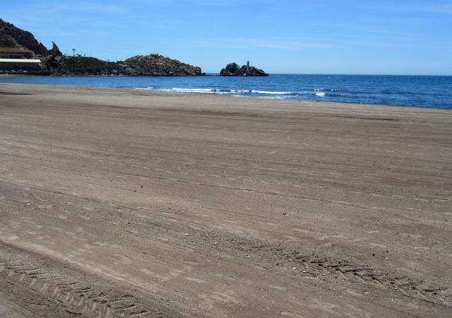 Águilas beaches: Playa de las Delicias