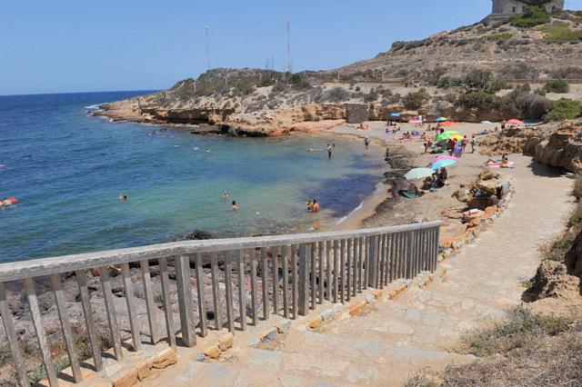 Cartagena beaches: Cala Túnez (Cabo de Palos)