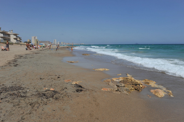 Cartagena beaches: Playa Amoladeras (Cabo de Palos)