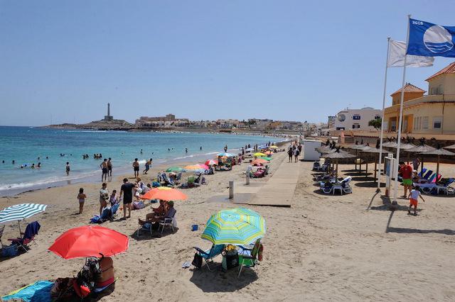 Cartagena beaches: Playa Levante (Cabo de Palos)