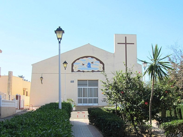 The church in Los Nietos (Mar Menor)