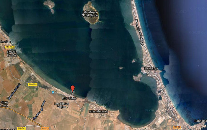 The marina of Los Nietos (Mar Menor)