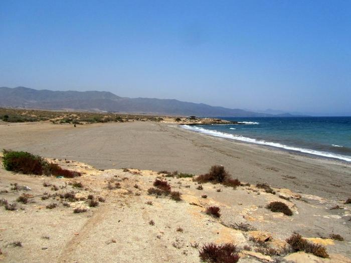 Águilas beaches : Playa de la Rambla de Elena