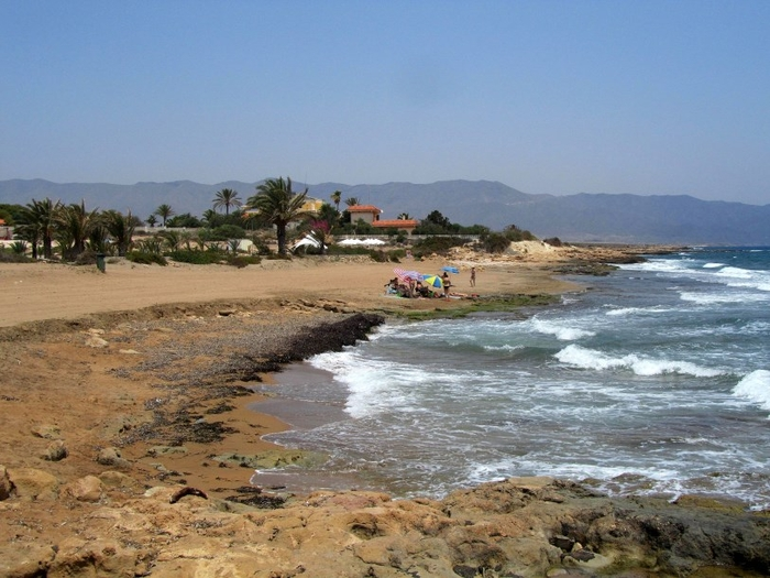 Águilas beaches: Playa del Sombrerico