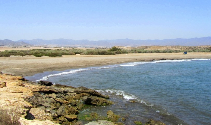 Águilas beaches: Playa del Rafal