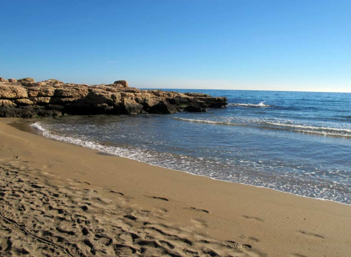Águilas beaches: Playa del Charco Nudist Beach