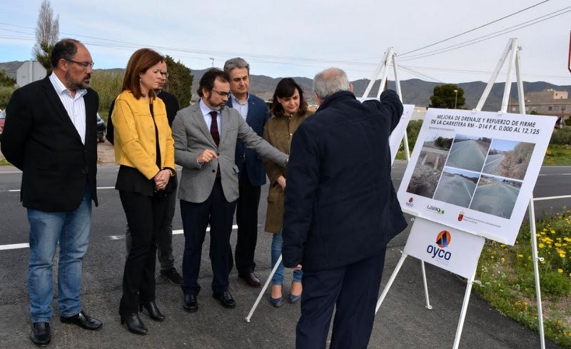 <span style='color:#780948'>ARCHIVED</span> - Aguilas-Calabardina road improvements completed