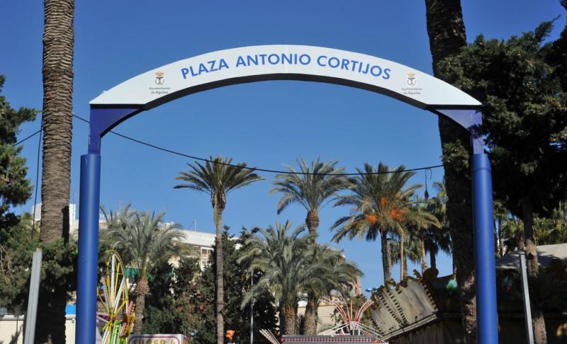 Águilas, Plaza de Antonio Cortijos