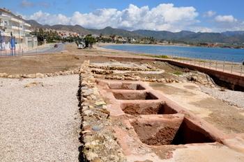 Puerto de Mazarrón the El Alamillo Roman villa and 4th century Roman house in Calle Era