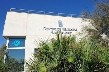 The Las Salinas visitors centre in San Pedro del Pinatar