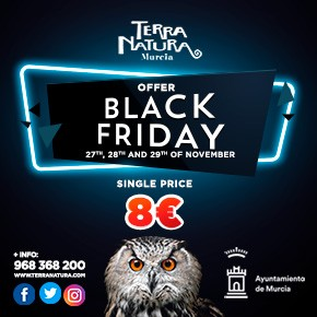 Terra Natura Zoo November Black Friday 2020