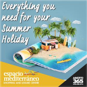 Espacio Mediteraneo Summer Hilday Banner