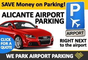 We Park Alicante Banner