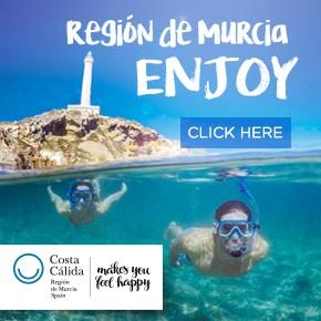 Murcia Turistica Enjoy the region of murcia banner WHATS ON