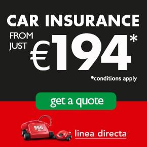 Linea Directa CAR INSURANCE LEFT column L-Z Sponsor