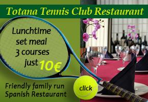 Restaurant Club de Tenis Totana